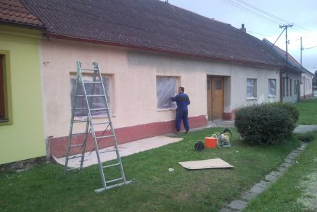 K. Řečice – oprava fasády